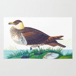 'Jager' by John James Audubon Rug