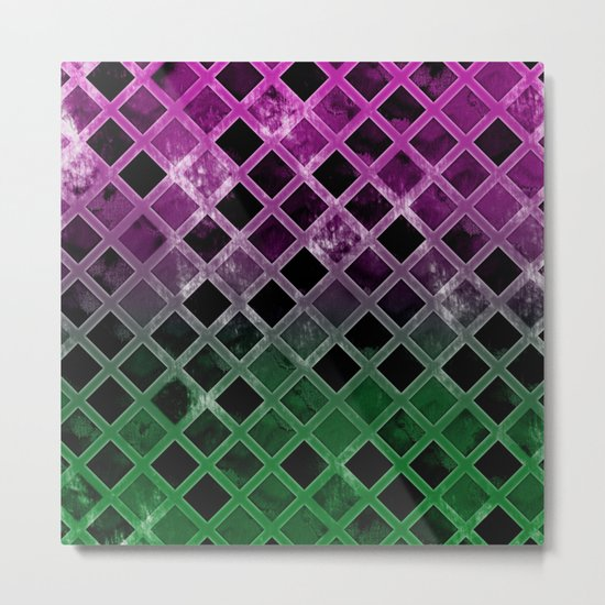 Abstract Geometric Background #7 Metal Print