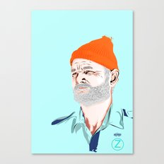 Doc Zissou Canvas Print