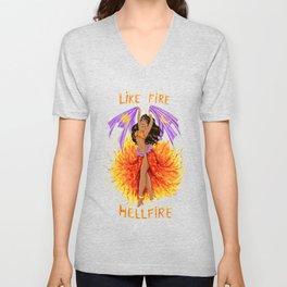 Hellfire Unisex V-Neck