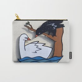 The Swan & The Raven Carry-All Pouch