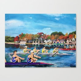 Philadelphia, Dad Vail Regatta Canvas Print
