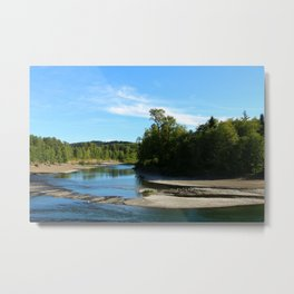 Quillayute River Metal Print