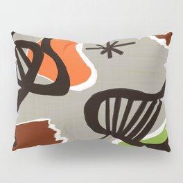 Mid Century Art Backcloth Inspired Pillow Sham