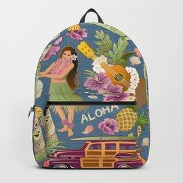 Hula Half Drop Backpack