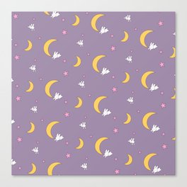 Usagi Tsukino Sheet Duvet - Sailor Moon Bunnies Canvas Print