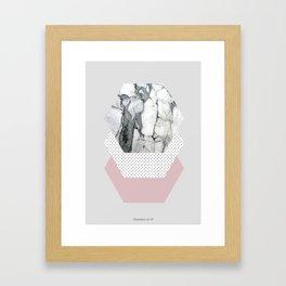 HEXABLE II Framed Art Print