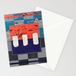 Stitch in Time - check Stationery Cards