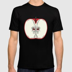 Anxiety Apple Black MEDIUM Mens Fitted Tee