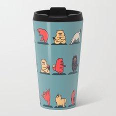 Cat Yoga Travel Mug