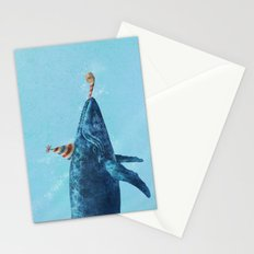 Party Whale  Stationery Cards