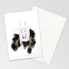 I'm a bunny Stationery Cards