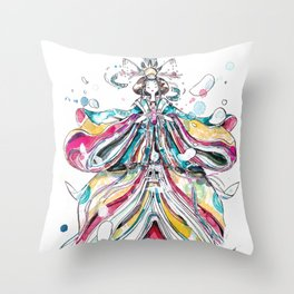 Ningyo Throw Pillow