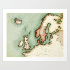 North Europe Art Print