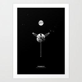 PIONEER 10 Art Print