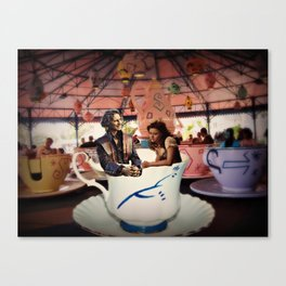 Rumbelle in Wonderland Canvas Print