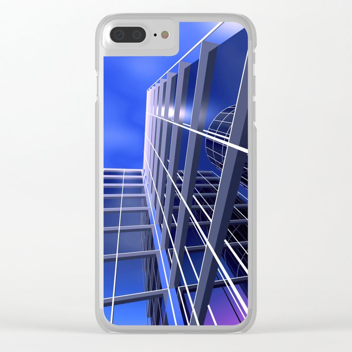 citylines -2- Clear iPhone Case