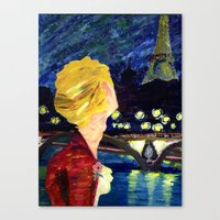 les mis Canvas Prints featuring Enjolras in Paris les mis by Pruoviare
