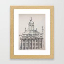 Chicago - London Guarantee Framed Art Print