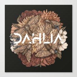 DAHLIA OFFICIAL DEBUT Canvas Print