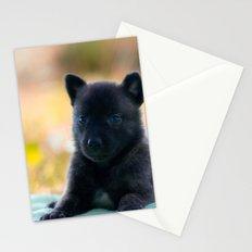 Cuter Herder Shepherd Puppy 4 weeks old Stationery Cards