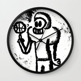 Footsketball Player Wall Clock