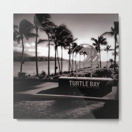 Turtle Bay Resort Hawaii Metal Print