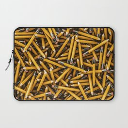 Pencil it in / 3D render of hundreds of yellow pencils Laptop Sleeve