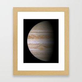 The Greatest Jupiter Portrait Framed Art Print