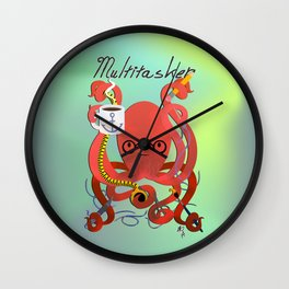 Multitasker Wall Clock