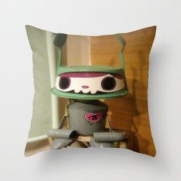 mono Throw Pillow
