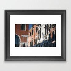 Venetian Reflection Framed Art Print