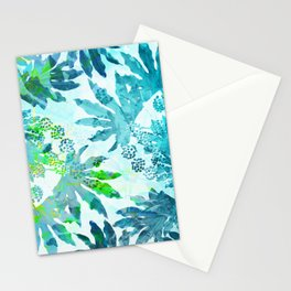 Tropical adventure - Blue Stationery Cards