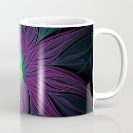 Purple Magic Flower Coffee Mug