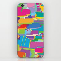 cityscape iPhone & iPod Skins featuring Cityscape by Glen Gould