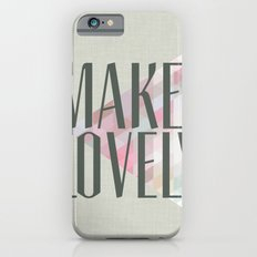 Make Lovely // Stone Slim Case iPhone 6s