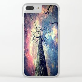 Hope Starts With Perception Clear iPhone Case