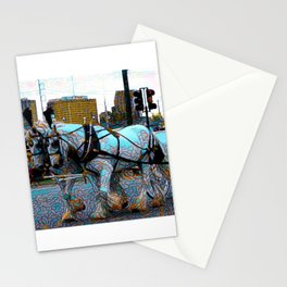 New Orleans Jazz Funeral Second Line Parade Stationery Cards