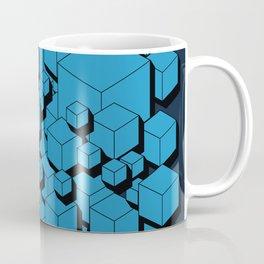 3D Futuristic Cubes VIII Coffee Mug