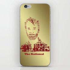 The National iPhone & iPod Skin