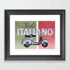 Stile Italiano Framed Art Print