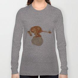 Help monkey Long Sleeve T-shirt