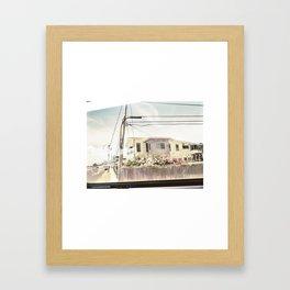 eléctrico Framed Art Print