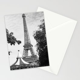 Paris in Black and White, Eiffel Tower Stationery Cards