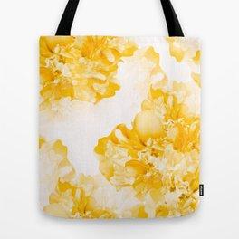 Beautiful Peony Flowers White Background #decor #society6 #buyart Tote Bag