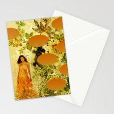Orange Lady Stationery Cards