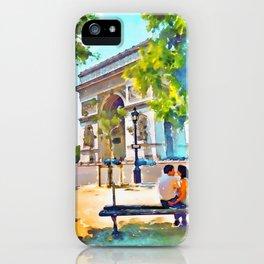 The Arc de Triomphe Paris iPhone Case