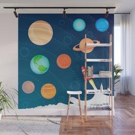 Space Foam Wall Mural