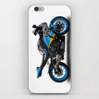 honda iPhone & iPod Skins featuring Honda CBR fireblade. by cjsphotos