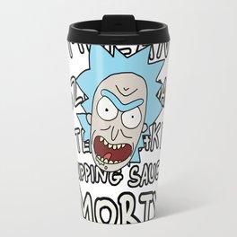 Mulan Szechuan teriyaki dipping sauce, Morty! Travel Mug